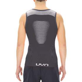 UYN Marathon Sleeveless Shirt Men blackboard/white